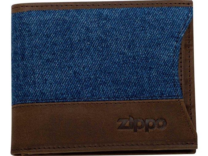 44159 Kožená peněženka Zippo