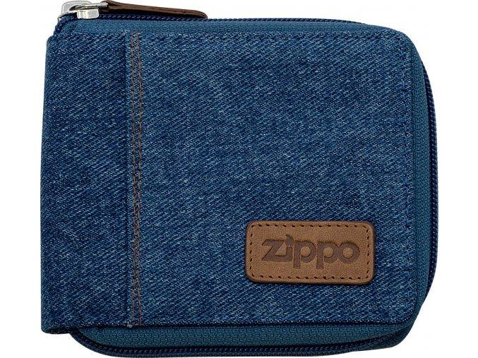 44162 Kožená peněženka Zippo