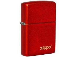 Zapalovač Zippo 26954 Metallic Red Zippo Logo