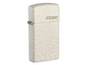 Zippo zapalovač Slim® Mercury Glass Zippo Logo