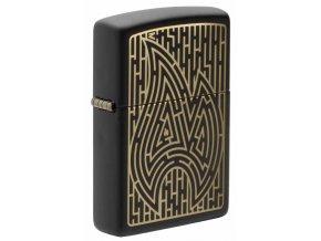 Zippo zapalovač 26966 Zippo Maze Design