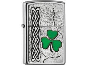 Zapalovač Zippo 20414 Irish Shamrock