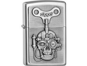 Zapalovač Zippo 20416 Mechanical Skull