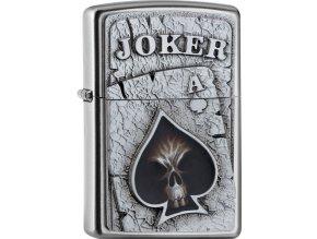 Zapalovač Zippo 20419 Joker Skull Ace