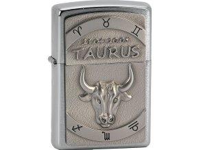 Zapalovač Zippo 21607 Taurus Emblem