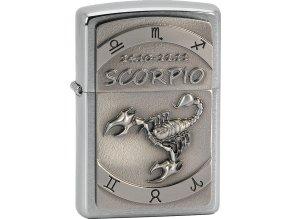 Zapalovač Zippo 21613 Scorpio Emblem