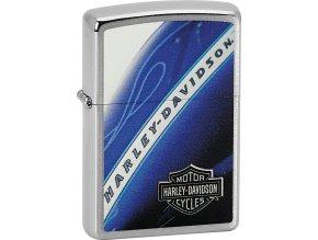 Zapalovač Zippo 21724 Harley-Davidson® Blue Tank