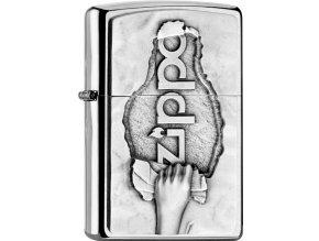 Zapalovač Zippo 21877 Torn Paper Emblem