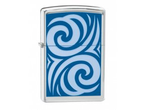Zapalovač Zippo 22565 Cobalt Curl