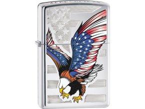 Zapalovač Zippo 22828 Eagle Flag