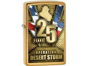 Zapalovač Zippo 23071 Desert Storm 25th Anniversary