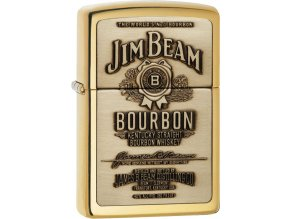 Zapalovač Zippo 23156 Jim Beam® Brass Emblem