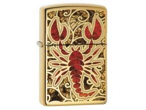 Zapalovač Zippo 24188 Scorpion Shell