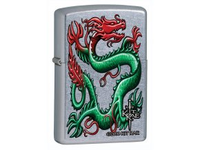 Zapalovač Zippo 25282 Kit Rae Green Dragon