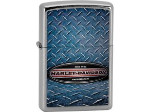 Zapalovač Zippo 25380 Harley-Davidson® Leather Metal