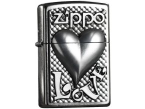 Zapalovač Zippo 25406 Love Heart