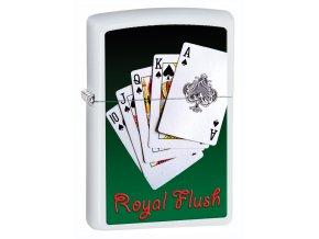 Zapalovač Zippo 26350 Royal Flush