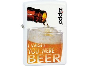 Zapalovač Zippo 26388 Wish You Were Beer
