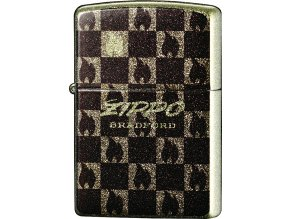 Zapalovač Zippo 26489 Shiny Flame Black