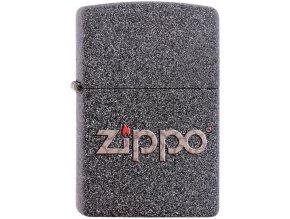 Zapalovač Zippo 26505 Snakeskin Zippo Logo