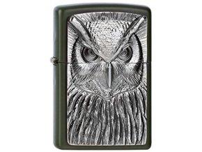 Zapalovač Zippo 26616 Owl Emblem