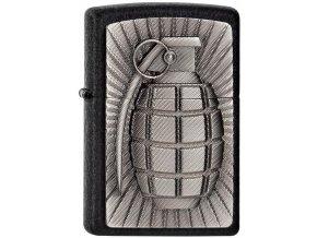 Zapalovač Zippo 26618 Grenade Emblem