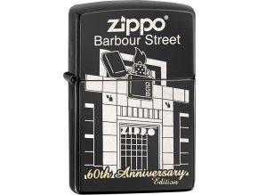 Zapalovač Zippo 26624 Barbour Street 60th Anniversary