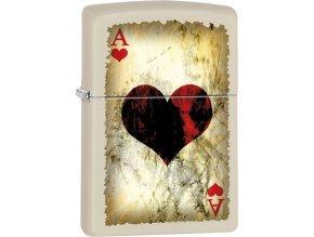 Zapalovač Zippo 26664 Ace of Hearts