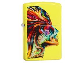 Zapalovač Zippo 26748 Colorful Head