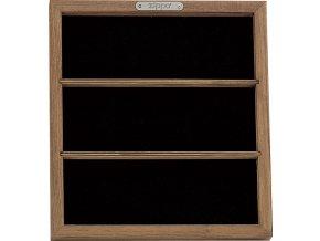 42120 Zippo dřevěná vitrína 12ks