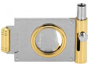 15639 Ořezávač doutníků Nickel-Gold