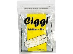 14022 Cigaretové filtry Ciggi Slim 6mm