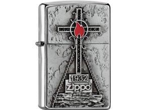 Zapalovač Zippo 21032 Peak Cross