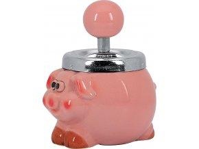 12708 Keramický popelník Piggy 135mm