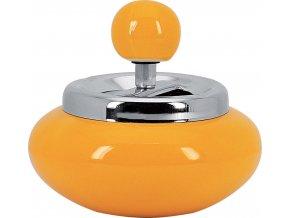 12710 Samozhášecí popelník žlutý 120mm