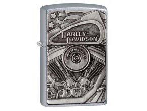 Zapalovač Zippo 25030 Harley-Davidson® Motor Flag