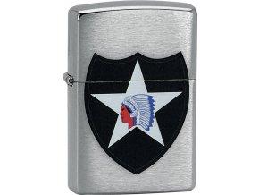 Zapalovač Zippo 21890 2nd Infantry Division
