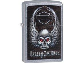 Zapalovač Zippo 25496 Harley-Davidosn® Skull