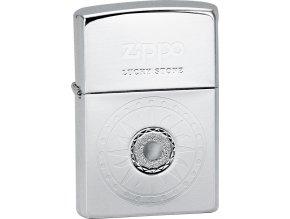 Zapalovač Zippo 28169 Lucky Stone White
