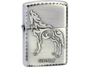 Zapalovač Zippo 28187 T-Wolf Antique