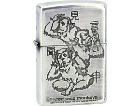 Zapalovač Zippo 28188 Three Wise Monkeys