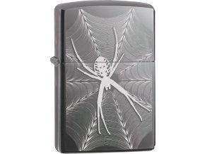 Zapalovač Zippo 25499 Spider Web Design