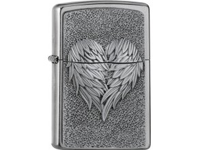 Zapalovač Zippo 25501 Heart with Feathers