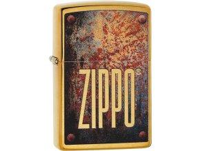 Zapalovač Zippo 23163 Rusty Plate Design