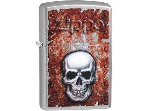Zapalovač Zippo 25512 Rusted Skull Design