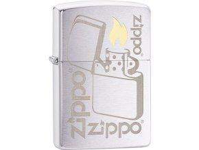 Zapalovač Zippo 21908 Zippo Lighter Logo