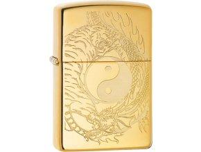 Zapalovač Zippo 24201 Tiger and Dragon Design