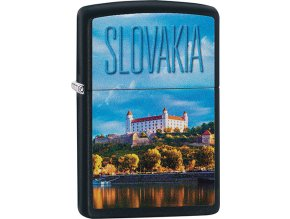 Zapalovač Zippo 26866 Slovakia Castle Design