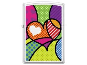 Zippo 26891 Pop Art Heart