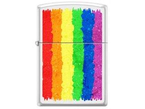 Zippo 26892 Rainbow Design